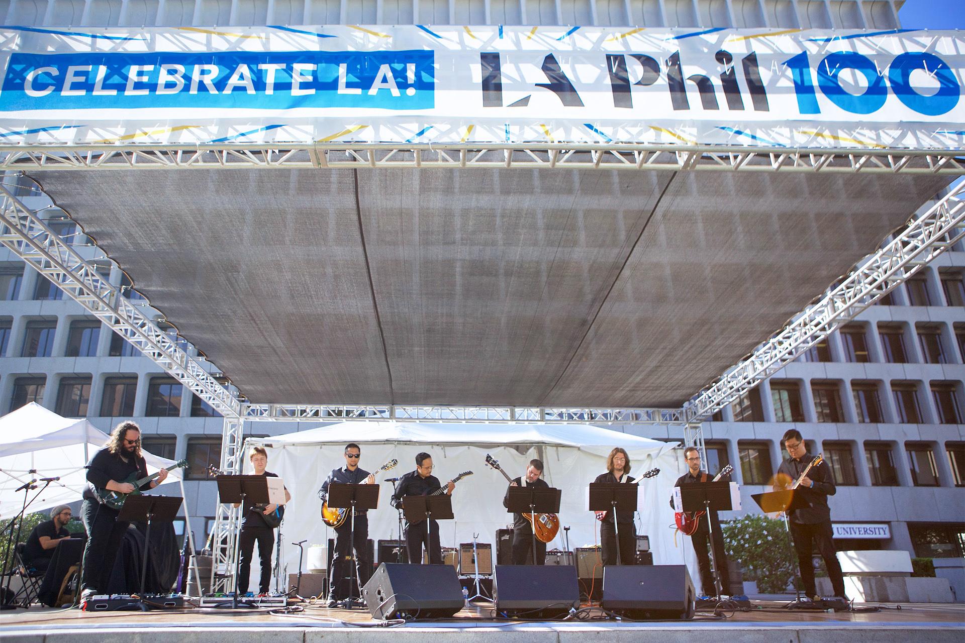Photos from LA Phil 100 Celebrate LA